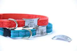 Martha Stewart Pets® Fish Cat Collar