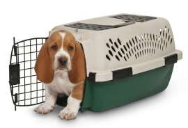 NATURE'S MIRACLE™ Double Door Pet Suite Carrier